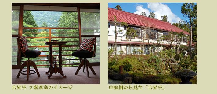箱根の旅館 吉昇亭