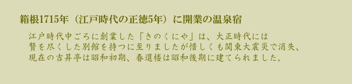 箱根の旅館 遊仙観